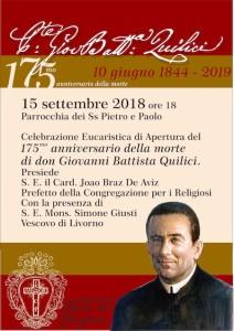 175 anniversario Quilici