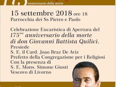 175° anniversario della morte di don Giovanni Battista Quilici
